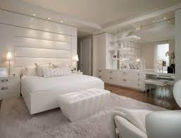 Artistic Bedroom Ideas by Creative And Classy White Bedroom Idea Get Sleek And Clean Look
