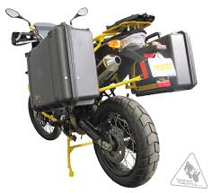 pelican case motorcycle luggage system sidecase kit deluxe