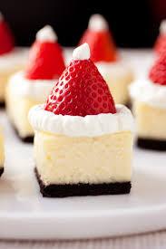 santa hat cheesecake bites i u0027m making these for christmas