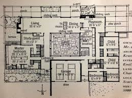 fresh mid century modern house plans courtyard 49 for with mid