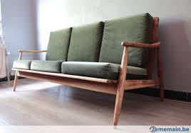 vendre canapé vintage canapé bois scandinave a vendre vintage chaise
