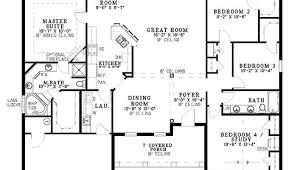 house plans single level single open floor plans plan single level one luxamcc