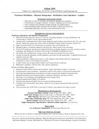Warehouse Worker Skills For Resume Cover Letter Resume For A Warehouse Job Resume Skills For