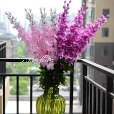 artificial flowers for home decoration 2018 wholesale wholesale price yellow dancing butterfly orchid