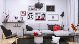 Modern Chic Living Room Ideas Chic Living Room Design Ideas Use An Art Decor To Amplify The