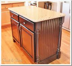 how to kitchen island from cabinets how to update a builder grade kitchen island with trim and paint