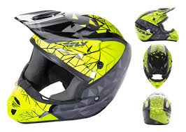 fly motocross helmet fly racing kinetic crux helmet cycle gear