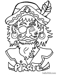 pirate parrot coloring pages glum