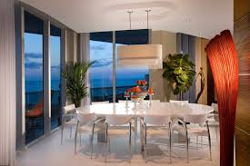 Modern Dining Room Sets Miami Miami Entrance Table Decor Dining Room Modern With Top Porcelain