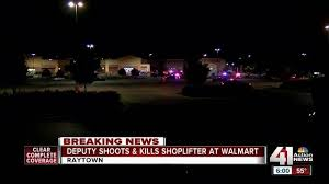 Light Fixtures At Walmart Shoplifting Suspect Dead After Officer Involved Shooting At