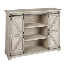 Barn Door Cabinets The Grainhouse Wood Metal Sliding Barn Door Cabinet