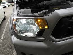Led Light Bulbs For Headlights by Ijdmtoy Car Led Lights Installation Pictures Gallery For Toyota