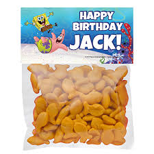 personalized cracker jacks spongebob squarepants birthday party supplies theme party packs