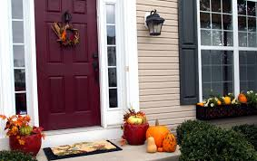 impressive thanksgiving front door decoration introducing