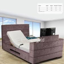 Tv Bed Frames Sweet Dreams Mazarine 6ft Superking Adjustable Tv Bed Bedstar
