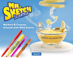 mr sketch scented markers and crayons at office depot officemax