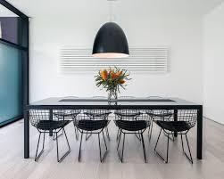 Bertoia Dining Chair Black White Powder Coating Harry Bertoia Wire Chair Modern Classic