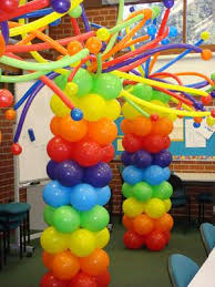 balloon columns how far in advance can i build a balloon column
