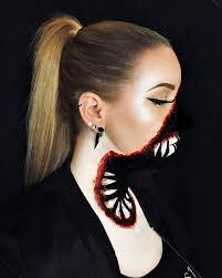 special effects fang face halloween makeup popsugar beauty