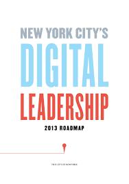 Nyc Tax Maps Nyc Digital Roadmap 2013