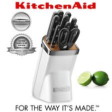Kitchen Aid Knives Kitchenaid Cutlery 7 Pcs Set Frosted Pearl Cookfunky