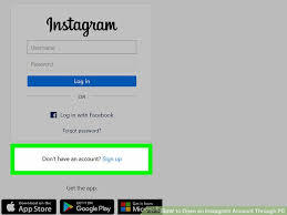 Instagram For Pc How To Open An Instagram Account Through Pc 4 Steps