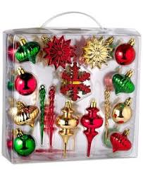 living 40 pack chagne and gold shatterproof ornament