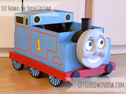 diy thomas the train costume little red window