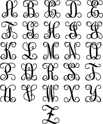 create monogram initials wrought iron inspired metal wall with three monogrammed