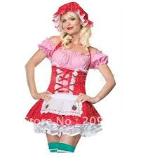 French Maid Halloween Costume Wholesale Arrive Dark Blue French Maid Cosutmes Women