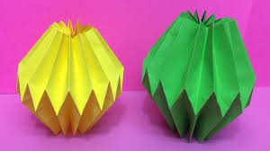 origami home decor how to make home decoration with color paper diy paper home
