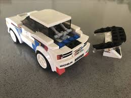 peugeot 205 group b lego ideas peugeot 205 turbo 16 lego speed champions