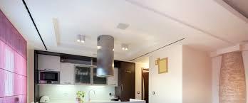 faux plafond design cuisine eclairage faux plafond cuisine salon moderne et clairage led