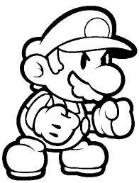 super mario coloring pages www super paper mario coloring pages