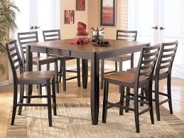 interior contemporary square dining room sets for elegant modern