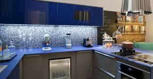 harmonie cuisine une cuisine tendance en harmonie de bleus