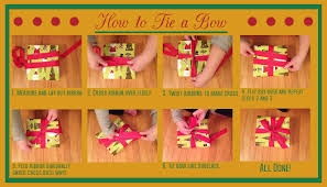 tying gift bows helpful tips and directions for decorative gift wrapping