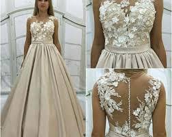 beige wedding dress simple silk wedding dress camille beige bridal gown
