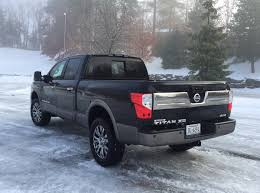 nissan truck 2016 review 2016 nissan titan xd fills the empty space in the middle