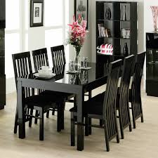 Black Dining Room Set With Bench Black Dining Room Sets Black And Silver Dining Table And Chairs