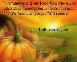 remembering loved ones on thanksgiving screensavers