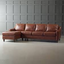 leather sectional sofas you u0027ll love wayfair