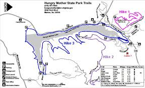 virginia state parks map hikin hungry state park marion va