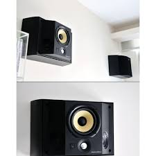 home theater wall stand bowers wilkins ds3 wallmounted surround speakers pair home cinema