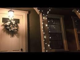 2 story christmas lights vlog no 8 how to hang christmas lights on a 2 story house youtube
