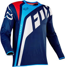 fox motocross jersey fox helmets fox flexair seca jerseys u0026 pants motocross blue fox