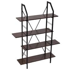 Office Furniture Storage 4 Layers Wooden Storage Bookshelf Home Office Furniture