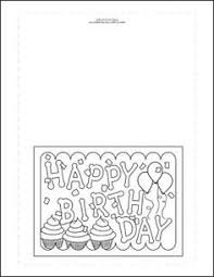 birthday cards to print and color ideas printables u0026
