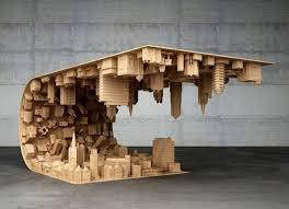 Rolling Coffee Table Coooooool Inception Inspired Rolling City Coffee Table Geekologie