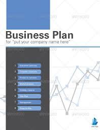 sample business plan cover page 42 pages business plan template by sthalassinos graphicriver